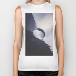 The Abstract Space Between Light, Nature, and Sound.  Yea. Biker Tank
