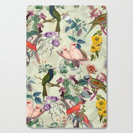 Floral and Birds VIII Cutting Board