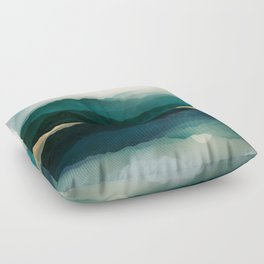 Waters Edge Reflection Floor Pillow