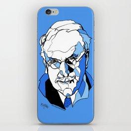 Swiss Psychiatrist Carl Jung iPhone Skin