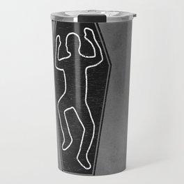 Chalk Outline Travel Mug