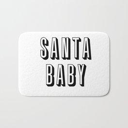 Santa Baby Bath Mat
