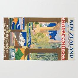 Vintage poster - Christchurch Rug