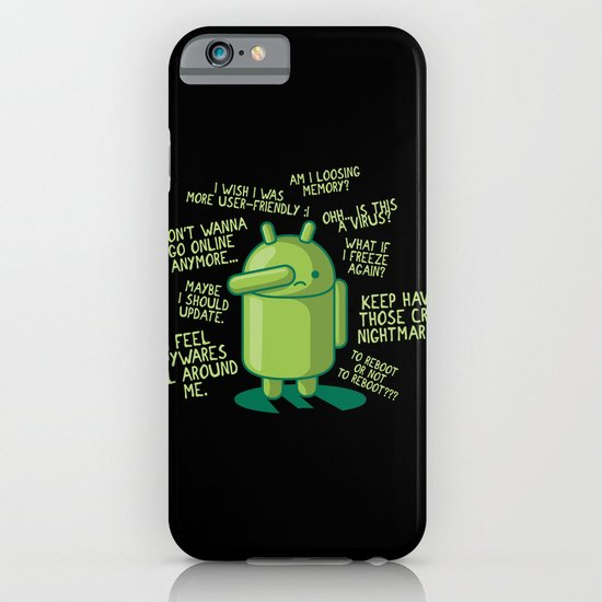 PARANOID ANDROID iPhone & iPod Case
