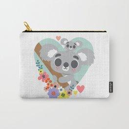Koala Bear Love / Cute Animal Carry-All Pouch