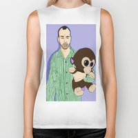 murray Biker Tanks featuring James Murray Impractical Jokers  by Lord Gloria