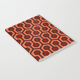 The Overlook Hotel Carpet Pattern Notebook