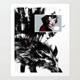 Lil' Red Art Print