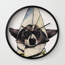 Banana Dog Wall Clock