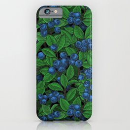 Blueberry iPhone Case