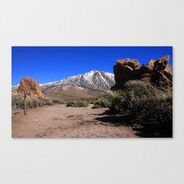 Amazing El Teide 1.0 Canvas Print