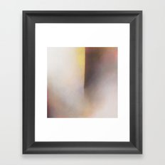 Whitby Cavern - Abstract geometric sea painting Framed Art Print