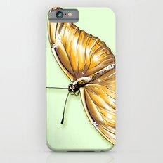 Papillon jaune Slim Case iPhone 6s
