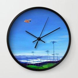 Diving Angel Wall Clock