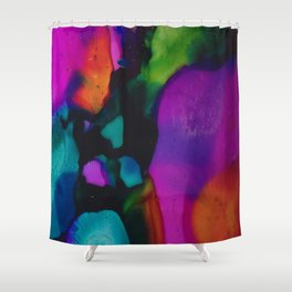 Colors of the Night Shower Curtain