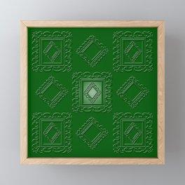 Camarone Greenery Framed Mini Art Print