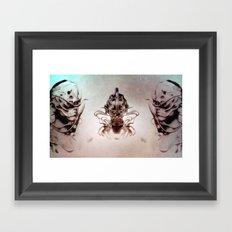 Praying 01 Framed Art Print