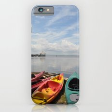 Bay Landscape with Canoe  iPhone 6s Slim Case