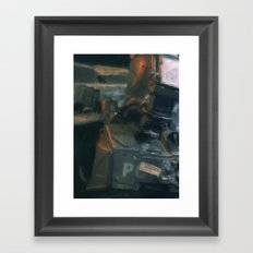 We are machines Framed Art Print