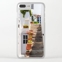 Hidden Alcove Clear iPhone Case