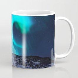 Aurora BorealiS Mountains Coffee Mug
