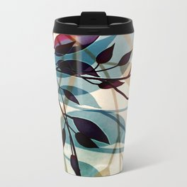 Flood of Leafs Metal Travel Mug