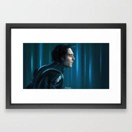 Winter's Chill Framed Art Print