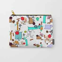 """Dialogue with the Dog - R01 - """"Friends"""" Carry-All Pouch"""