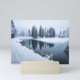 Dreamy Winterscape Mini Art Print