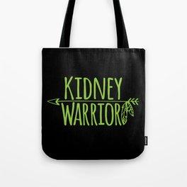Kidney Warrior Tote Bag