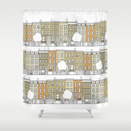 Brooklyn (color) Shower Curtain