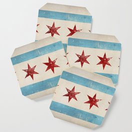 Chicago Flag Coaster