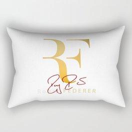 RF is Roger Federer Rectangular Pillow