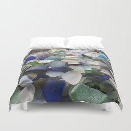 Sea Glass Assortment 5 Duvet Cover