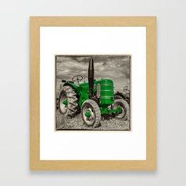 Green Marshall Framed Art Print