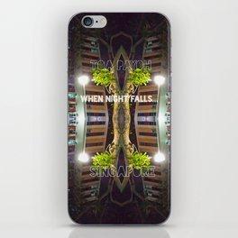 NIGHTFALL@HDB iPhone Skin