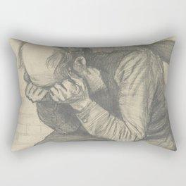 Worn Out Rectangular Pillow