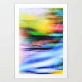 BRIGHT II Art Print