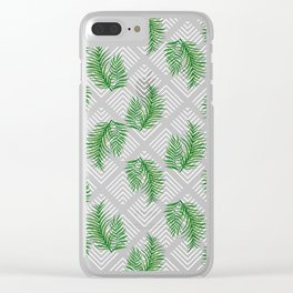 Geometries & Palms #society6 #decor #buyart Clear iPhone Case