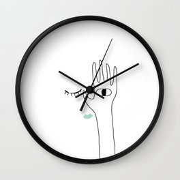 Blindness Wall Clock
