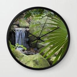 Little Waterfall Wall Clock