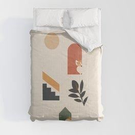 Hide and Seek Corgi Comforters