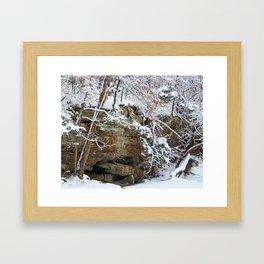 winter seen # 3 Framed Art Print
