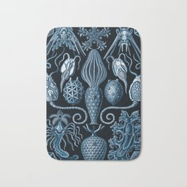 Ernst Haeckel Amphoridea Sea Life Bath Mat