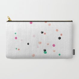 Color Dots Carry-All Pouch