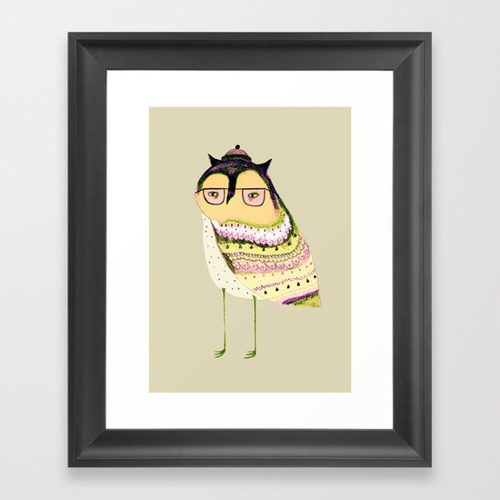 I'm Cool Framed Art Print