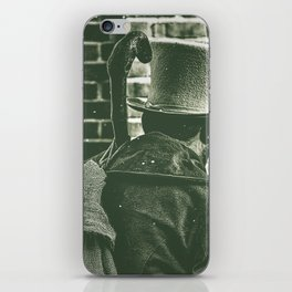 Victorian Christmas. iPhone Skin