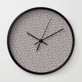 Circles Pattern -Tobiko #abstract Wall Clock