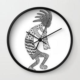 Tangled Kokopelli Wall Clock