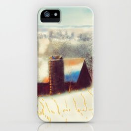 The Barn Over The Hill iPhone Case